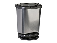 Briscoes NZ Mazzei Jive Refuse Bin Carbon 40 Litre