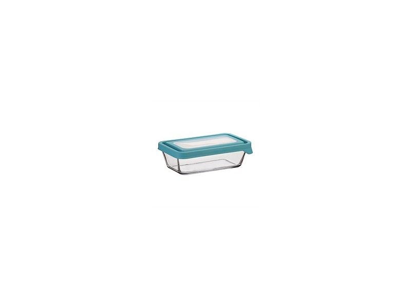 Anchor Hocking Storage with Mineral Blue Lid 4 3/4 Cup 1.1L