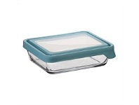 Briscoes NZ Anchor Hocking Storage with Mineral Blue Lid 6 Cup 1.6L