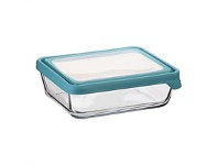 Briscoes NZ Anchor Hocking Storage with Mineral Blue Lid 11 Cup 2.6L