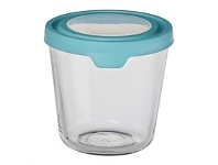Briscoes NZ Anchor Hocking Storage with Mineral Blue Lid 7 Cup 1.75L