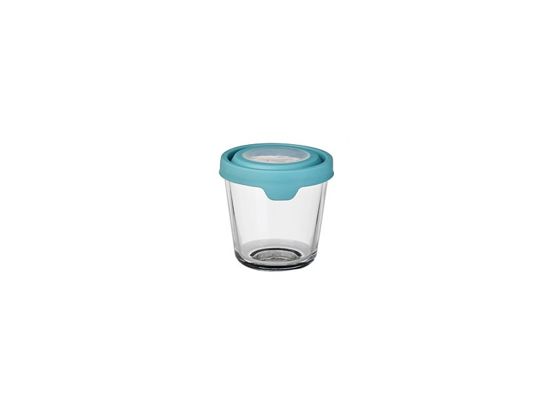 Anchor Hocking Storage with Mineral Blue Lid 3.5 Cup 0.85L