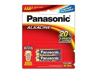 Briscoes NZ Panasonic Alkaline Battery AAA 2 Pack