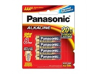 Briscoes NZ Panasonic Alkaline Battery AAA 8 Pack