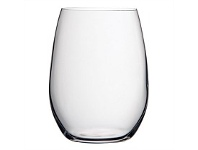 Briscoes NZ Pasabahce Pure Stemless Wine Glass 370ml set 6