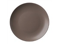Briscoes NZ Ecology Earth Series Taupe Dinner Plate 27cm