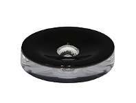 Briscoes NZ Spa By Volere Optic Soap Dish Black