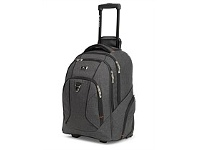 Briscoes NZ High Sierra Endeavour Wheeled Backpack Heather Grey
