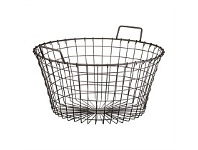 Briscoes NZ Koopman Rustic Metal Basket