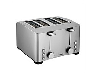 Briscoes NZ Wiltshire Stainless Steel Toaster 4 Slice 50091