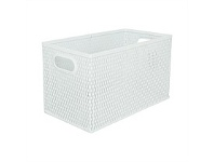 Briscoes NZ Bijou Modern Storage Box White