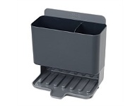 Briscoes NZ Joseph Joseph Caddy Tower Slimline Sink Tidy Grey