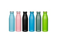 Briscoes NZ Sistema Hydrate Stainless Steel Drink Bottle 500ml Assorted
