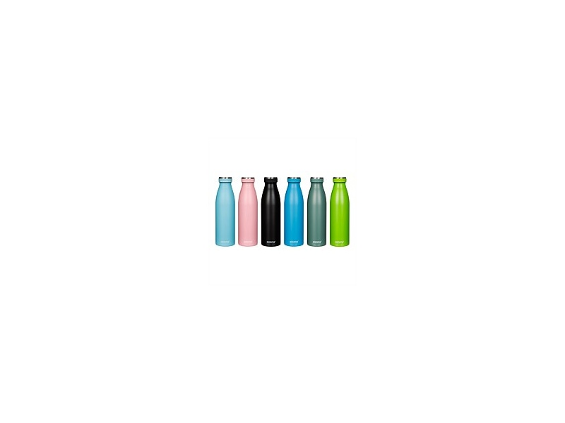 Sistema Hydrate Stainless Steel Drink Bottle 500ml Assorted