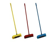 Briscoes NZ Go Clean Stiff Fill Promo Push It Broom 350mm