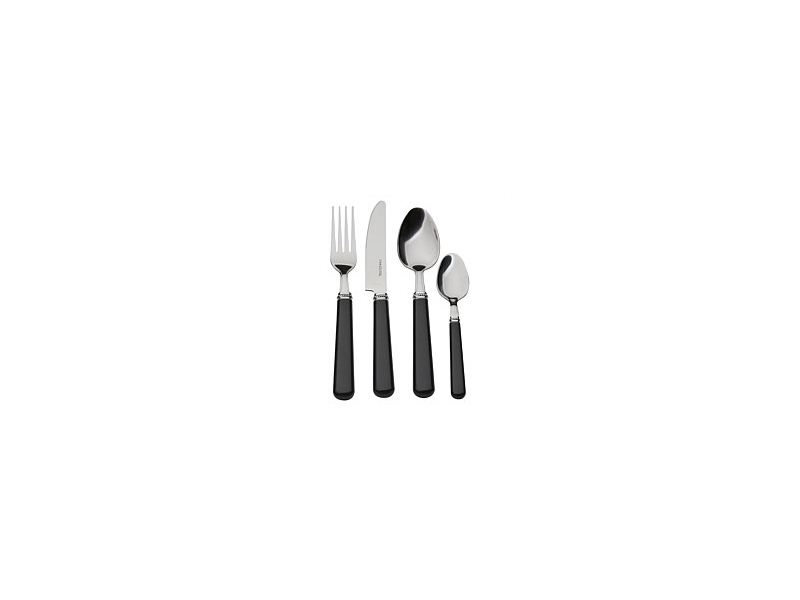 Volere Classic Cutlery Set Black 16 Piece