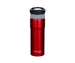 Thermos ThermoCafe Vacuum Insulated Travel Mug Red 450ml