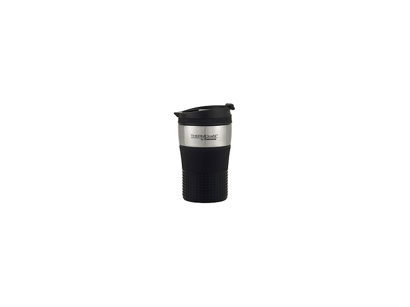 Thermos ThermoCafe Vacuum Insulated Coffee Cup Black 200ml