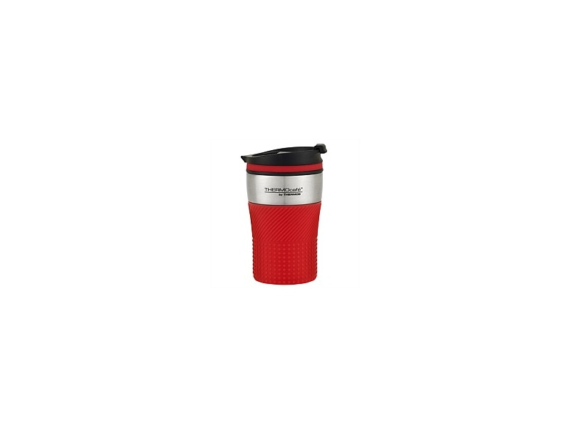 Thermos ThermoCafe Vacuum Insulated Coffee Cup Red 200ml