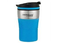 Briscoes NZ Thermos ThermoCafe Vacuum Insulated Coffee Cup Blue 200ml