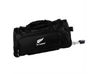 Briscoes NZ All Blacks Duffle Bag 2 Wheel Black