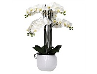 Briscoes NZ Real Touch 6 Spray Artificial Orchid
