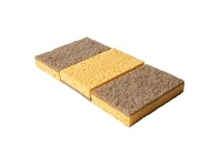 Briscoes NZ Simply Clean Coconut Fibre Sponges 3 Pack