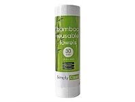 Briscoes NZ Simply Clean Reusable Bamboo Towels 30 Pack