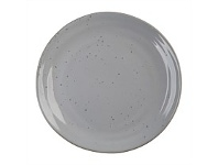 Briscoes NZ Ecology Franklin Grey Dinner Plate 27cm