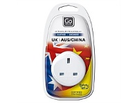 Briscoes NZ Go Travel Adaptor UK to AUS/NZ