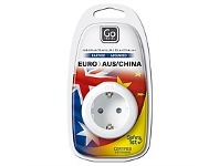 Briscoes NZ Go Travel Adaptor Europe to AUS/NZ