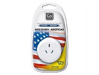 Briscoes NZ Go Travel Adaptor AUS/NZ to USA/America