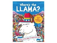 Briscoes NZ Usborne Where's The Llama? Book