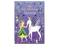 Briscoes NZ Usborne Sticker Dolly Dressing Unicorns Book