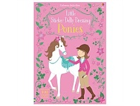 Briscoes NZ Usborne Sticker Dolly Dressing Ponies Book