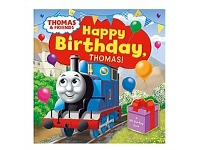 Briscoes NZ Usborne Happy Birthday Thomas Pre-School Book