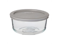 Briscoes NZ Pyrex Round Storage With Grey Lid 950ml 4 Cup