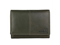 Briscoes NZ Condotti Ladies Tri Fold Clutch Green