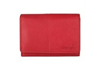 Briscoes NZ Condotti Ladies Tri Fold Clutch Red