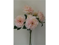 Briscoes NZ Artificial Frilly Peony Bush Pink