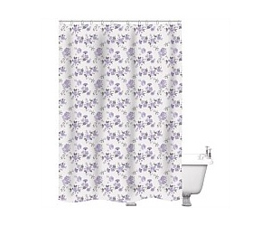 Just Home Shower Curtain Tara Multi 180x180cm