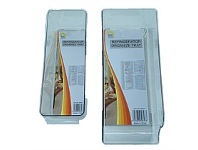 Briscoes NZ Refrigerator Acrylic Caddy Set of 2