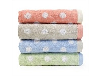 Briscoes NZ Cloud 9 Optima Dot Bath Towel