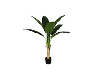 Briscoes NZ Banana Tree Artificial Plant 125x60cm