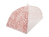 Briscoes NZ Just Home Swirl Red Food Umbrella 30x50cm