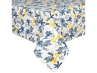 Briscoes NZ Just Home Sofia Yellow Tablecloth 130x180cm