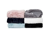 Briscoes NZ Royal Premiere Siberia Faux Fur Throw