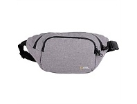 Briscoes NZ National Geographic Anti Theft Waist Bag Grey