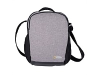 Briscoes NZ National Geographic Anti Theft Cross Body Bag Grey
