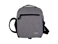 Briscoes NZ National Geographic Anti Theft Cross Body Tote Grey